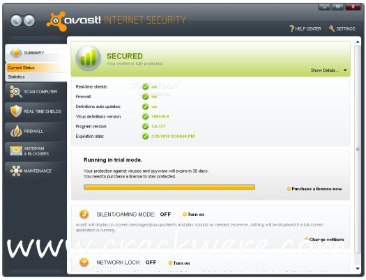 Avast Internet Security 20.10.5824 Crack + Activation Code Full Version