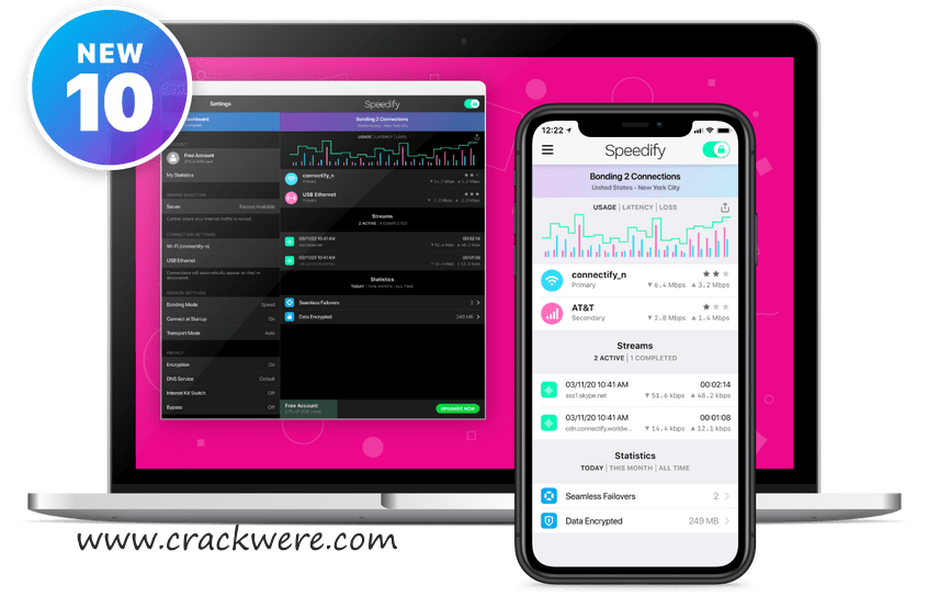 Speedify 10.8.1 Crack Unlimited VPN + Serial Key Download (2021)