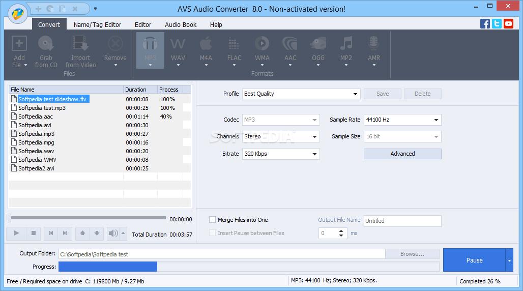 AVS Audio Converter 10.0.5.614 Crack With Serial Key 2021 (Windows/Mac)