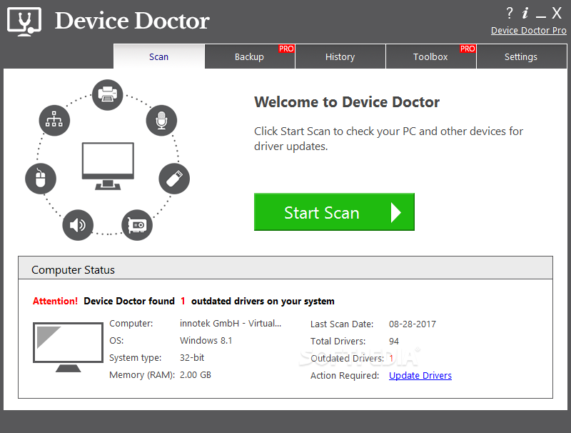 Device Doctor Pro 5.3.521.0 Crack With Key + Full Version Download (Windows)