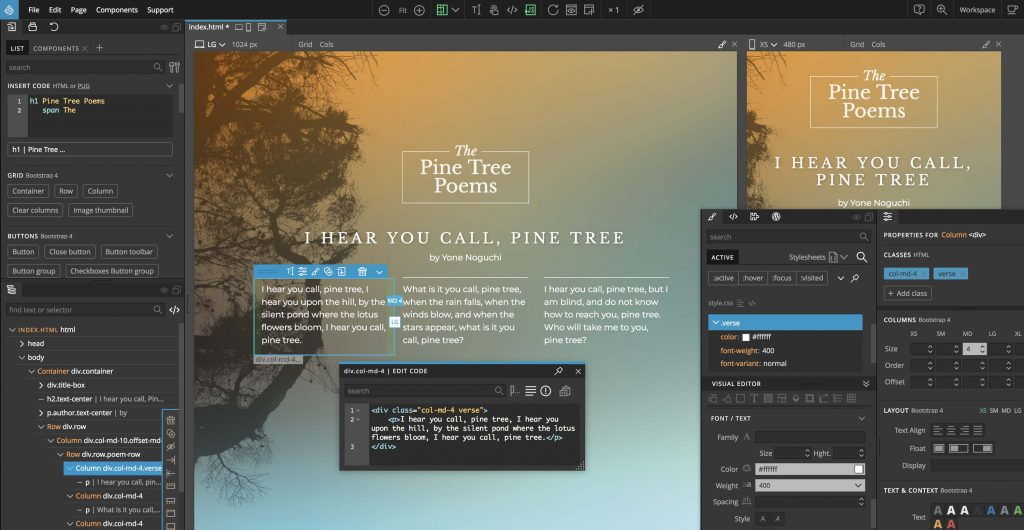 Pinegrow Web Editor 6.0 With Crack + Full Serial Key Download (2021)