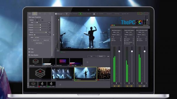 Wirecast Pro 14.3 Crack + Serial Key With Full Version Free Download [Win/Mac]
