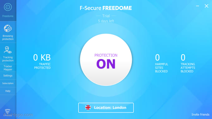 F-Secure Freedome VPN 2.43.809.0 Crack + Activation Code 2022 (Win/Mac)